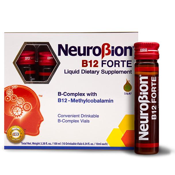 Neurobion B-12 Forte 10 viales_Box&vials_CajaYviales