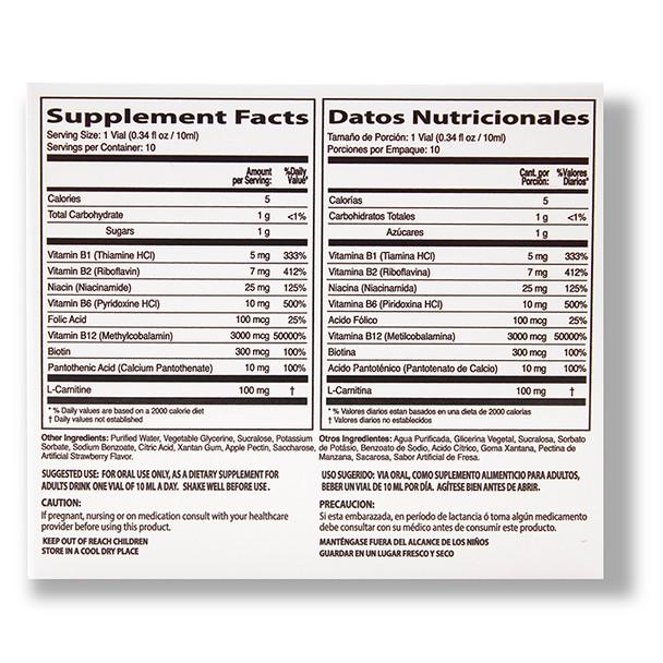 Neurobion B-12 Forte 10 viales_Facts