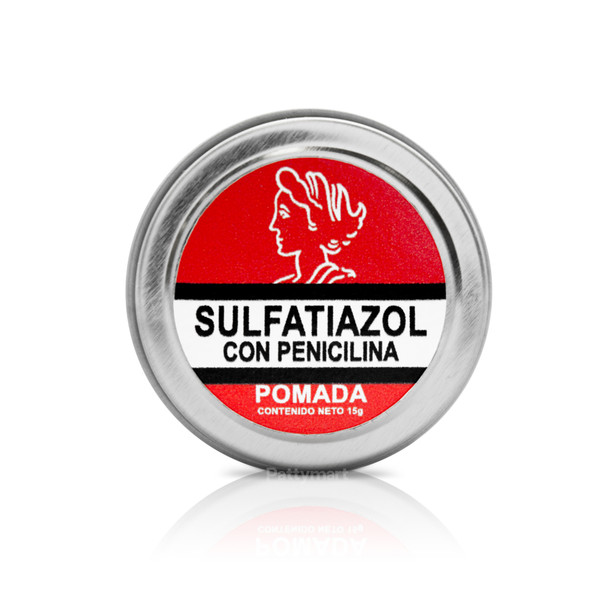 Pomada Sulfatiazol con Peni Latita 15 Gr