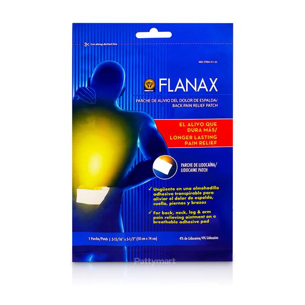Parche con Lidocaina Flanax