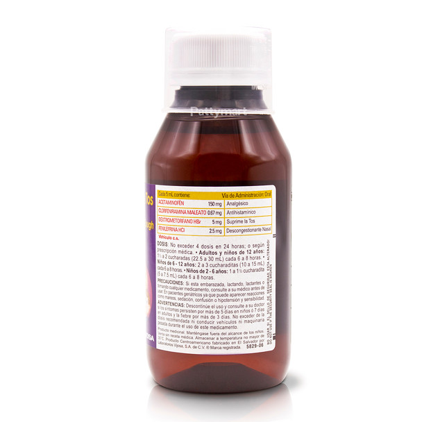 Virogrip Jarabe Cold & Cough 120 ml