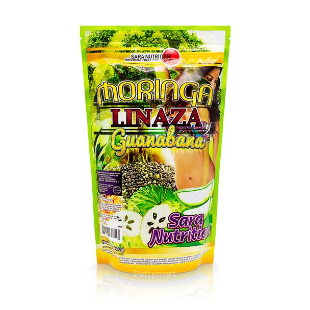 Moringa Guanábana Linaza 400 G Sara Nutrition