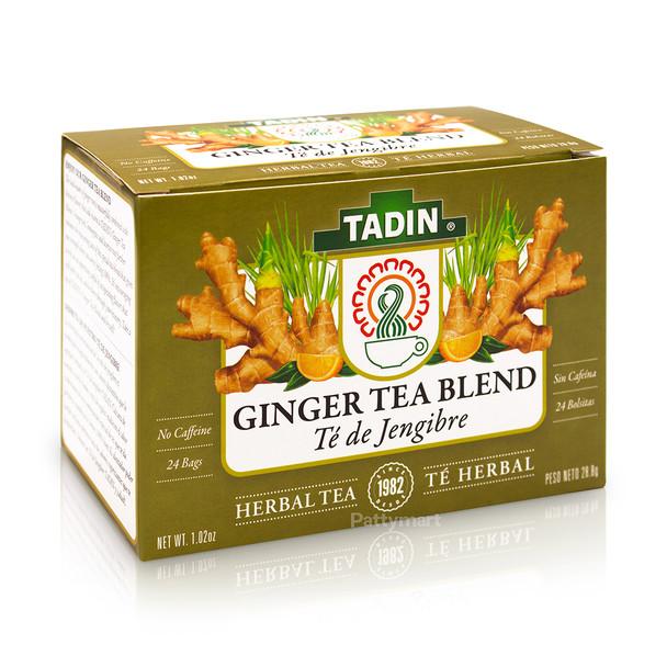 Te de Jengibre - Ginger Tea TADIN_Box_Caja