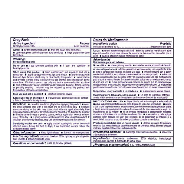 Asepxia acne crema 1 oz