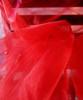 """Red Two-tone Organza Sheet 54"""" x 108"""""""