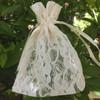 Ivory Lace Bag (2 sizes)