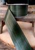 "Variegated Green 2"" Aspidistra Ti Leaf Floral Ribbon"