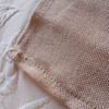 """13.5"""" x 108""""Jute and Cotton Blend Table Runner"""