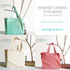 Washed Canvas Tote Bags, Wholesale Canvas Tote Bags | Packaging Decor