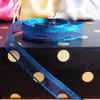 Royal Blue Glittery Sheer Ribbon