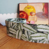 """1 ½"""" x 10 meters Tropical Leaf Printed Ribbon"""