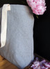 Wholesale Cotton Tote Bags, Grey Recycled Canvas Tote 18 x 15 x 5 3/4 inches B894-70 | Packaging Decor