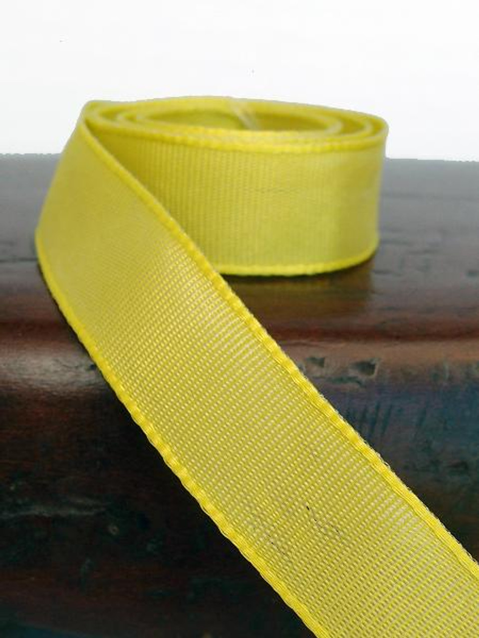 Lime Two-Toned Grosgrain Ribbon (2 sizes)
