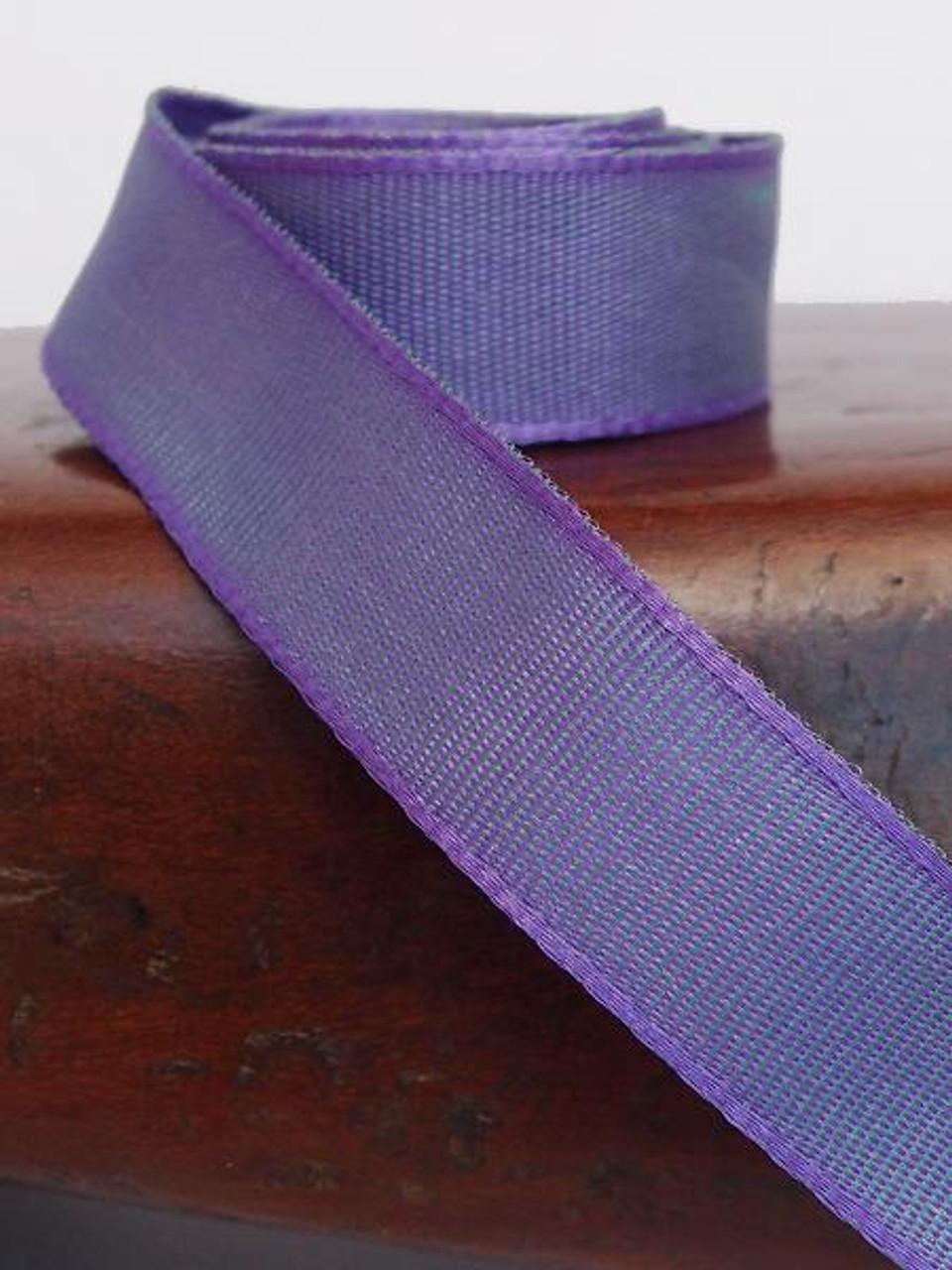 Delphinium Two-Toned Grosgrain Ribbon (2 sizes)