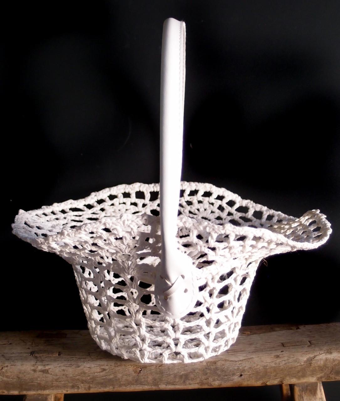 Wholesale Flower Girl Basket, Wholesale Gift Baskets, Wholesale Lace Baskets