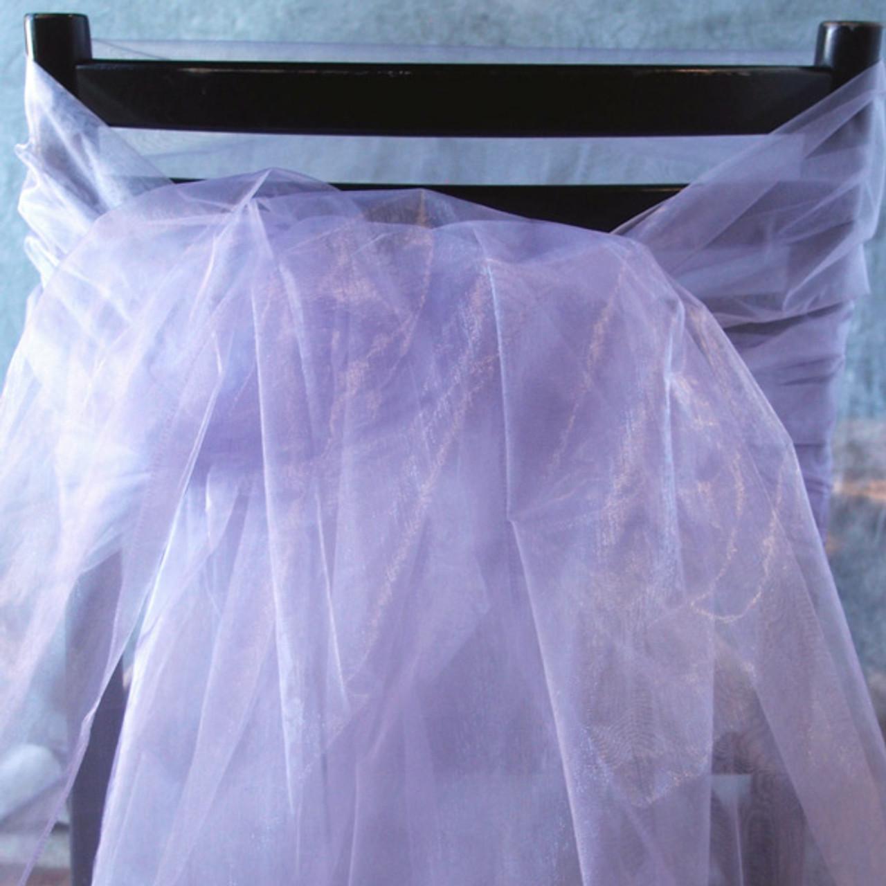 """Lavender Organza Sheet 54"""" x 108"""""""