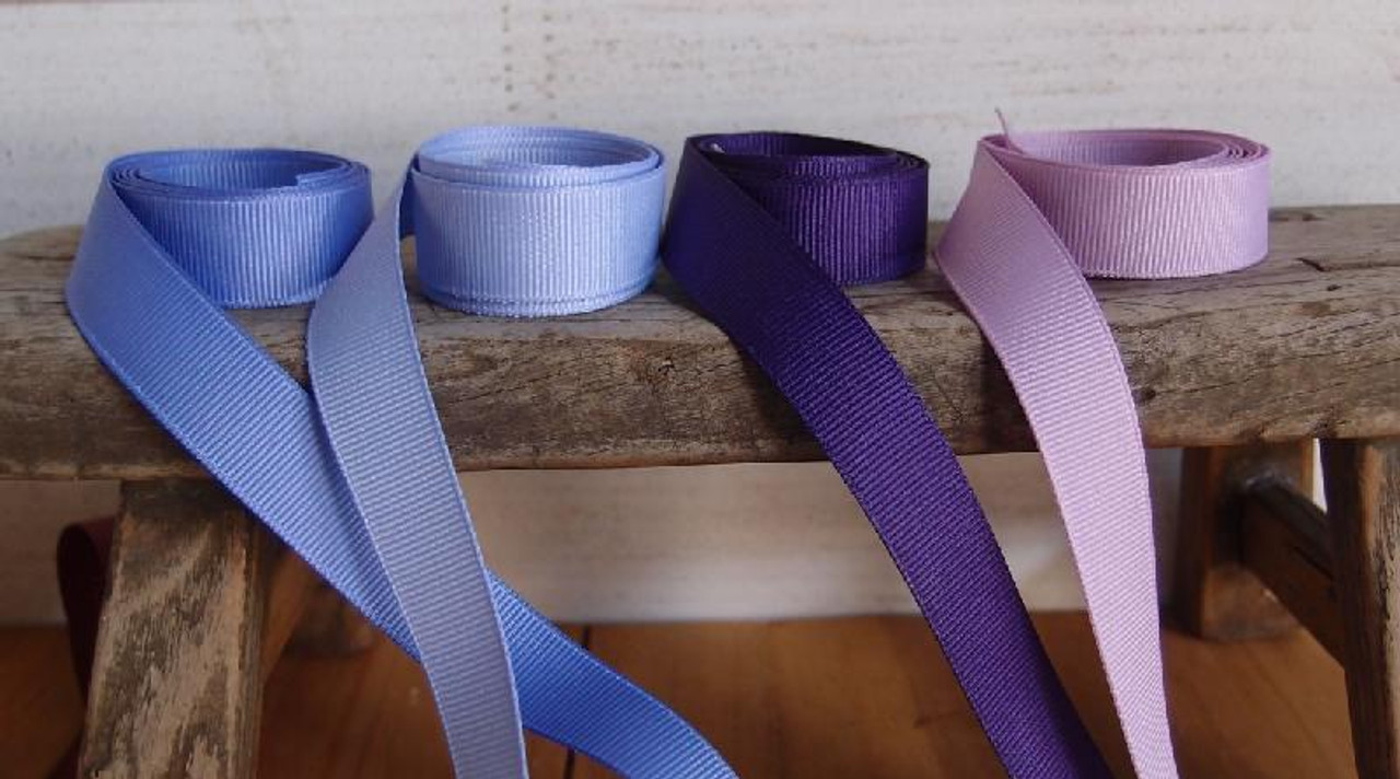 Lavender Grosgrain Ribbon (4 sizes)