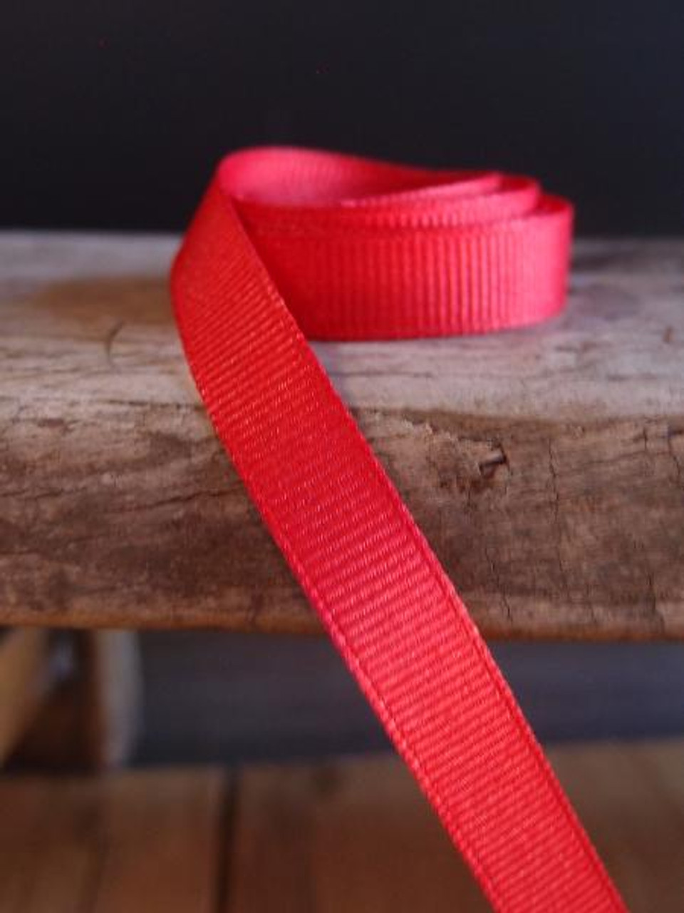 Red Grosgrain Ribbon (4 sizes)