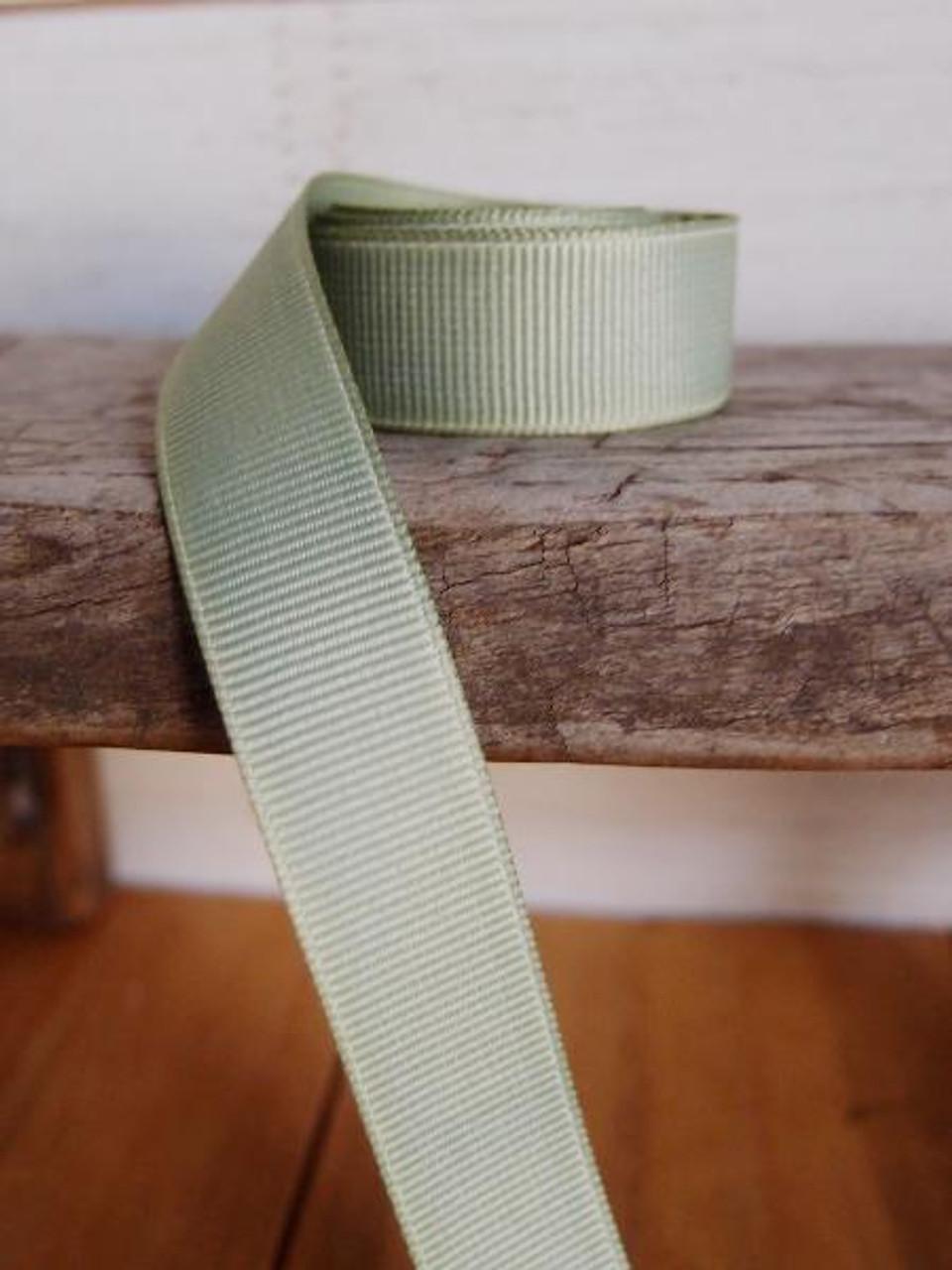 Spring Moss Grosgrain Ribbon (4 sizes)