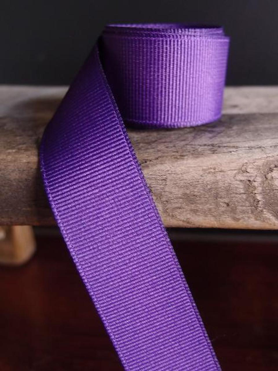 Purple Grosgrain Ribbon (4 sizes)