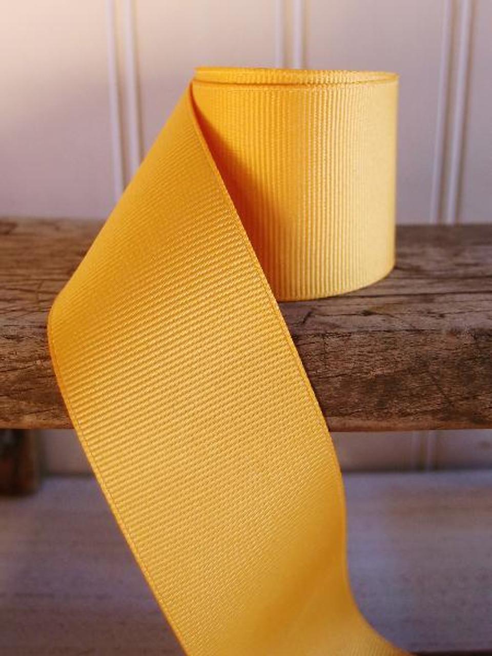 Gold Grosgrain Ribbon (4 sizes)