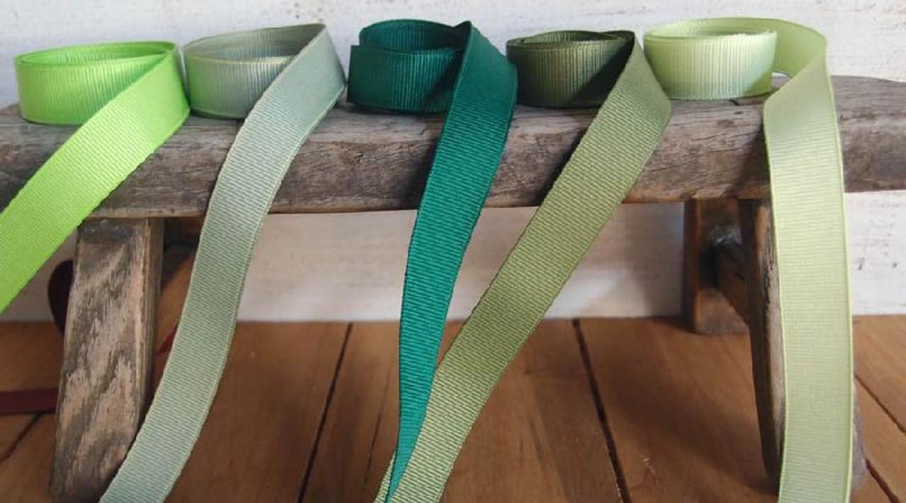 Lime Grosgrain Ribbon (4 sizes)