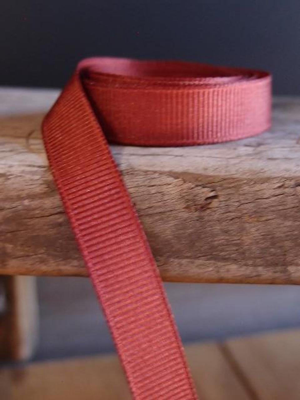 Rust Grosgrain Ribbon (4 sizes)