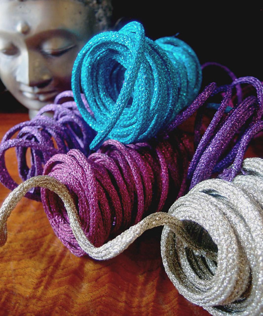 Purple Wired Glittery Rope