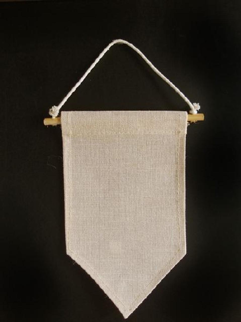 Jute Blend Hanging Wall Pennant Banner