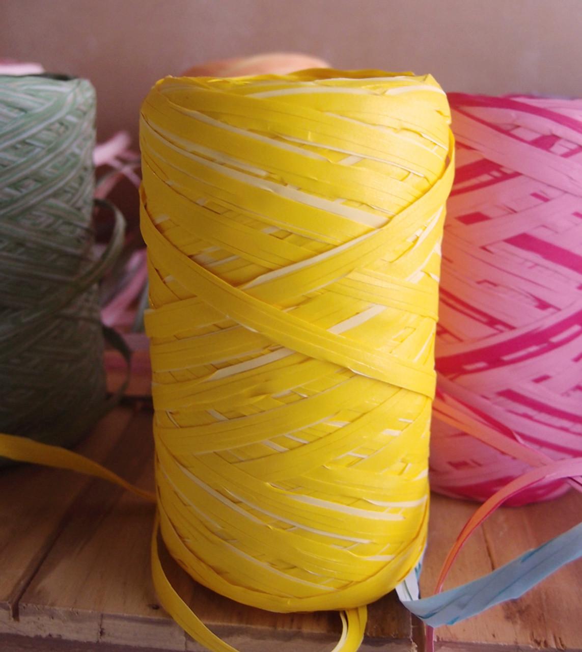 Upscale Raffia Yellow