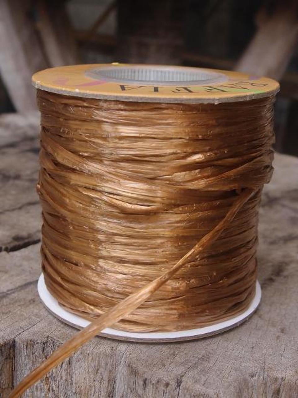 Copper Pearlized Raffia Roll