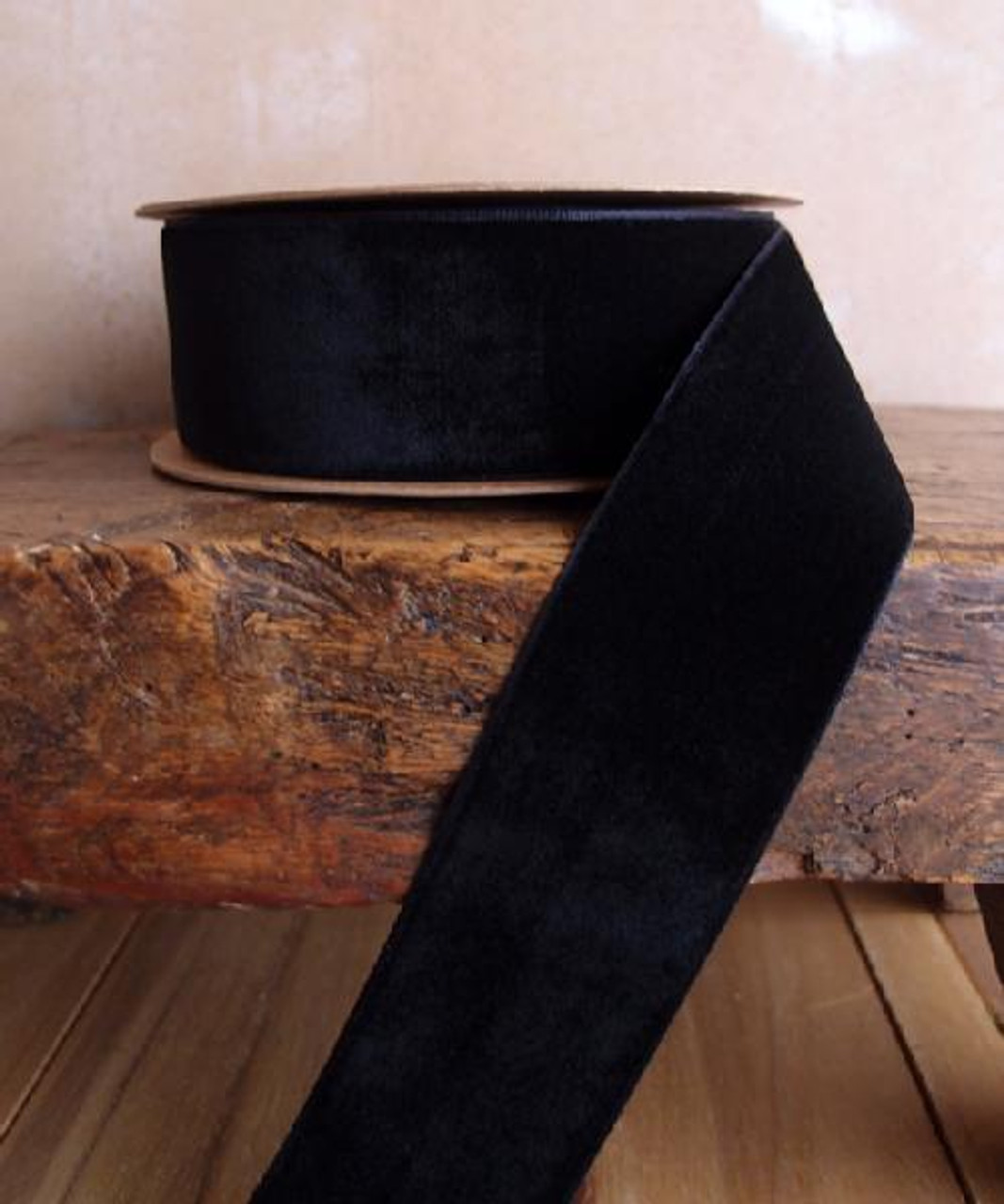 Black Velvet Ribbon (3 sizes)