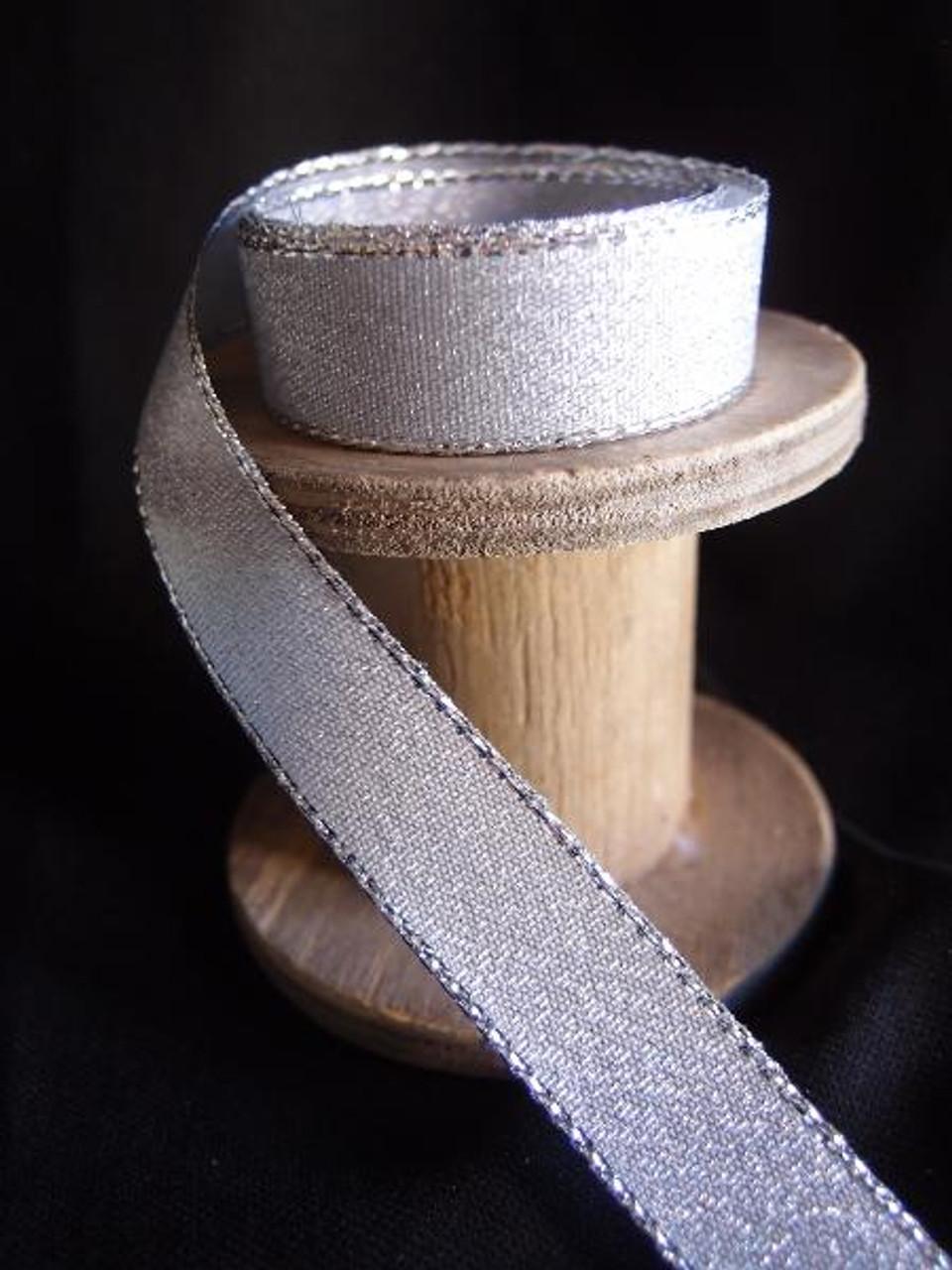 Silver Shimmery Ribbon