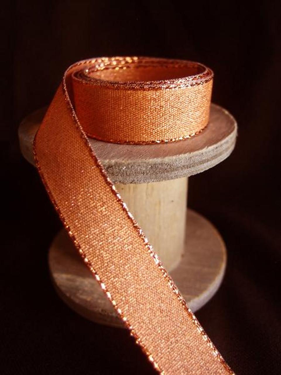 Copper Shimmery Ribbon