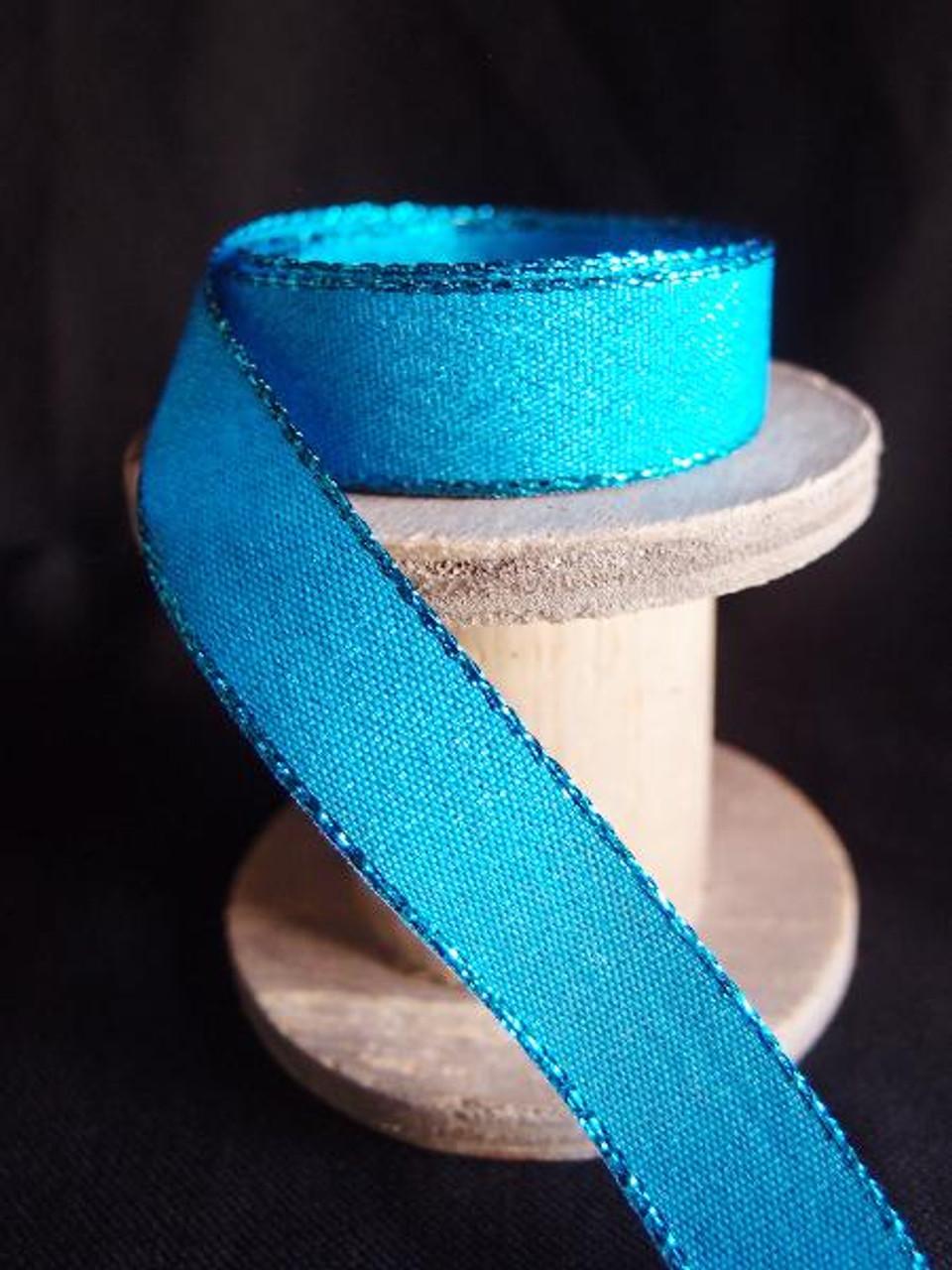 Turquoise Shimmery Ribbon