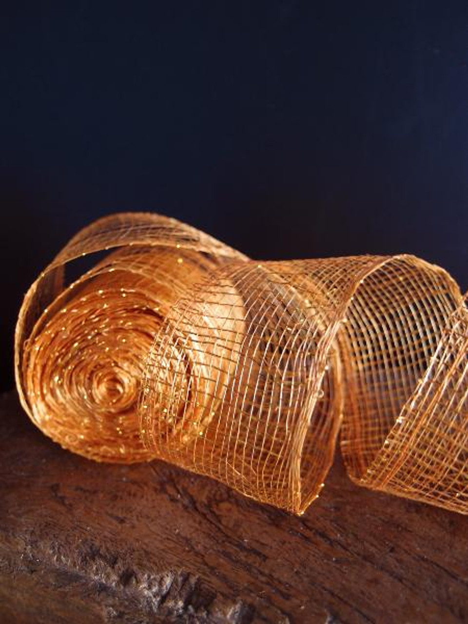Orange Sinamay Ribbon 976-33, Wholesale Ribbon, Gift Packaging | Packaging Decor