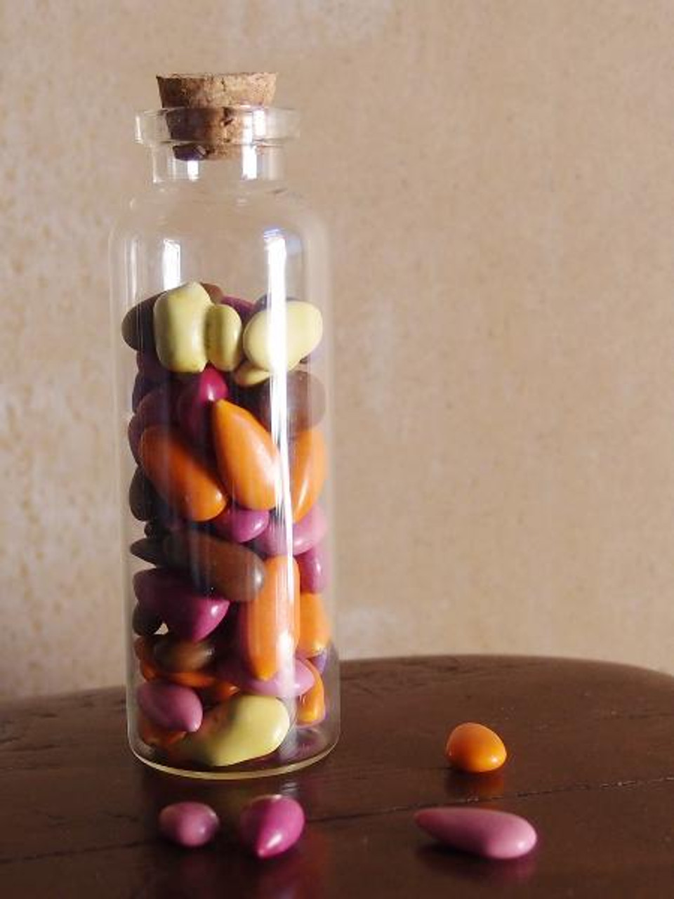 Glass Vial with Cork Top (4 sizes)