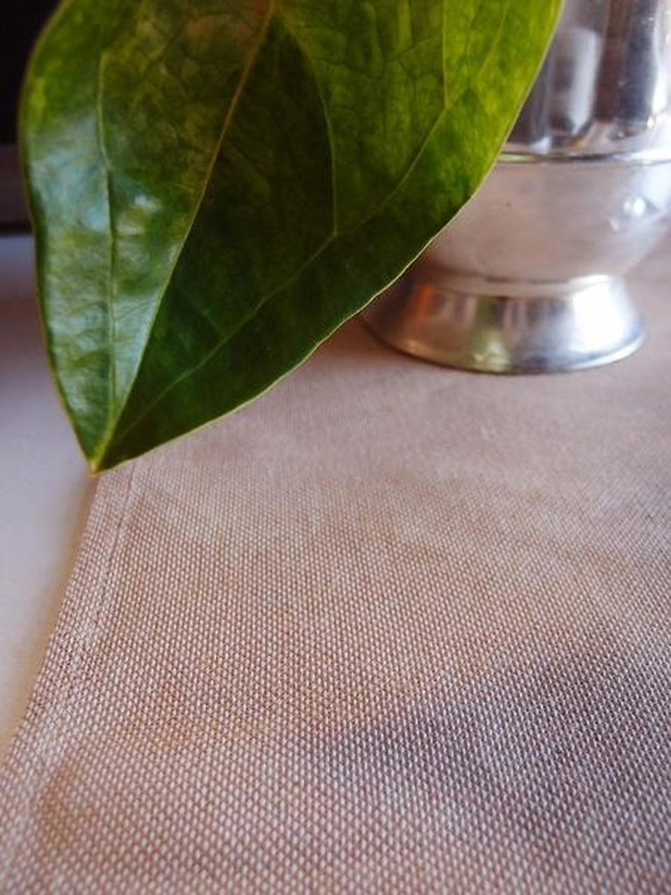 13 1/2 x 108 inches Jute and Cotton Blend Table Runner T113-21, Wholesale Wedding Table Runners | Packaging Decor