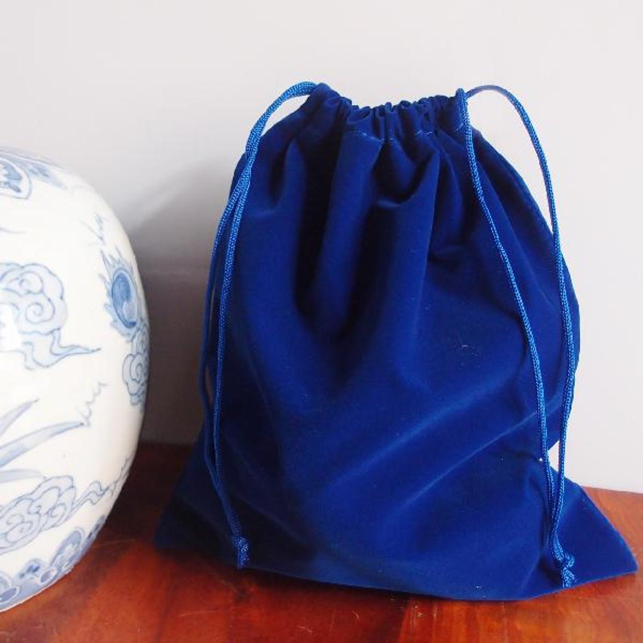 Royal Blue Large Velvet Bags (4 sizes)