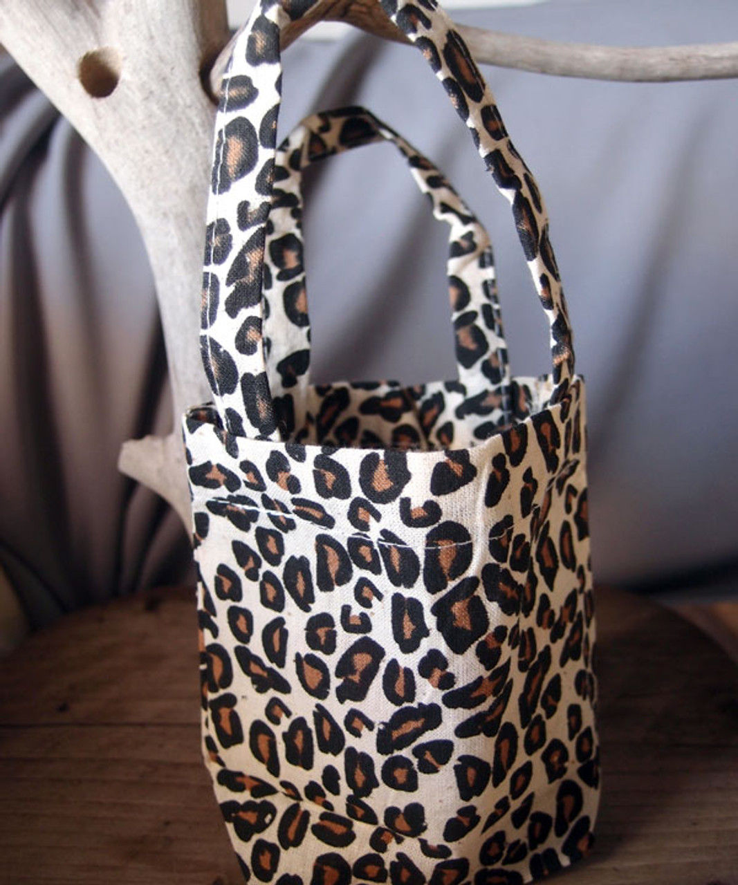 Wholesale Cotton Leopard Print Bags, Wholesale Cotton Tote Bags | Packaging Decor