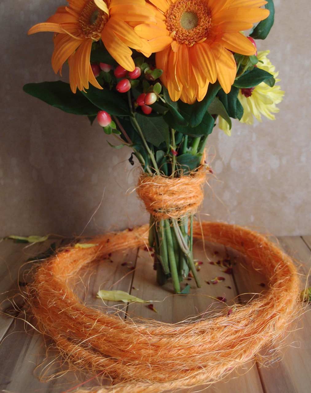 Orange Sisal Wire Rope