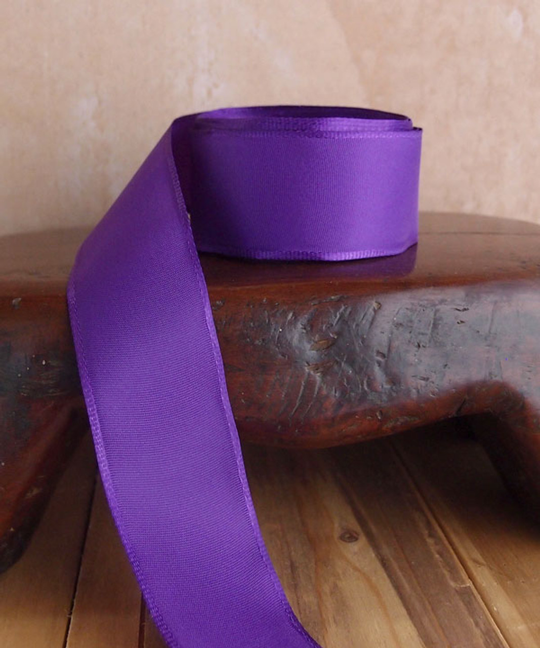 Purple Florist's Choice Ribbon with Wire Edge (2 sizes)