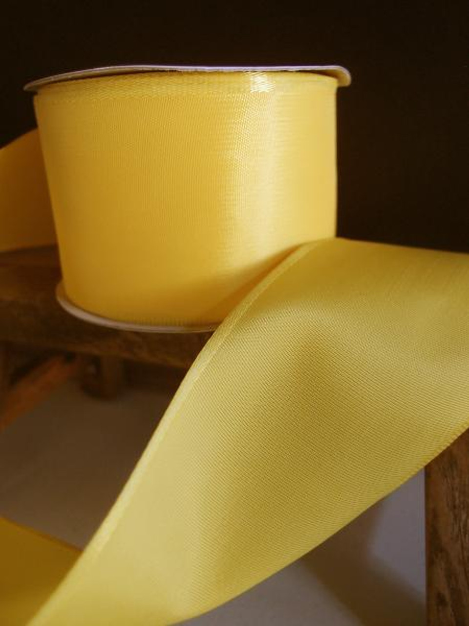 Yellow Florist's Choice Ribbon with Wire Edge (2 sizes)
