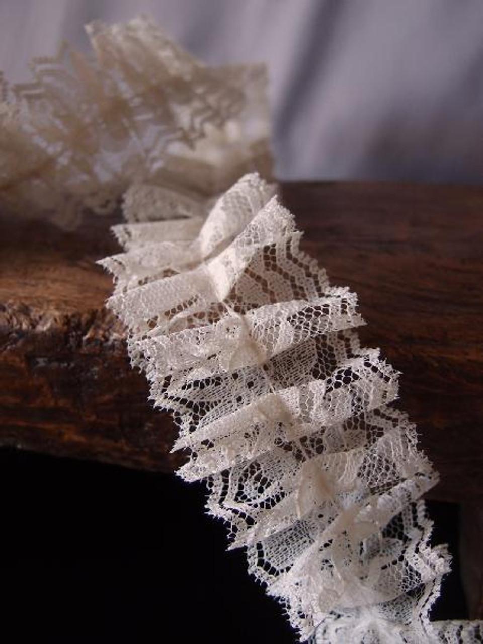 Ruffled Lace Ribbon