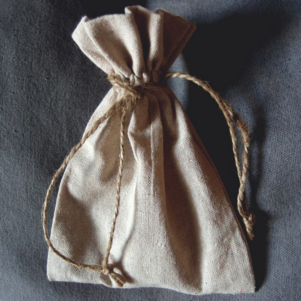 Linen Bag with Jute Cord (11 sizes)