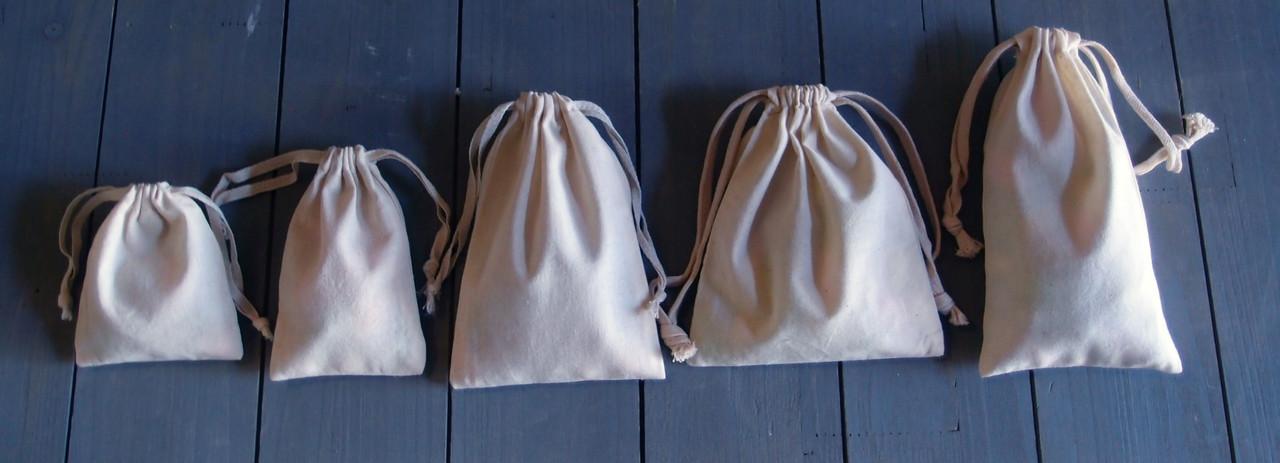 Plain Cotton Bags (11 sizes)