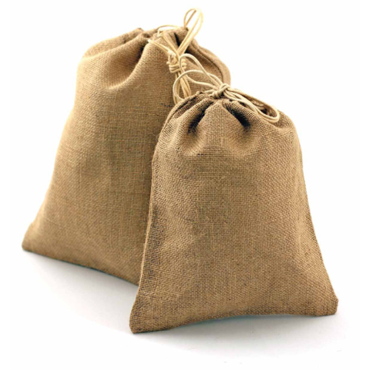 Jute Bag with Cotton Cord  (8 sizes