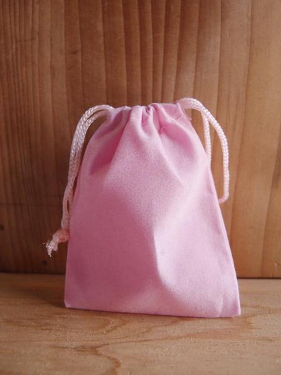Pink Velvet Bags, Wholesale Velvet Drawstring Bags | Packaging Decor