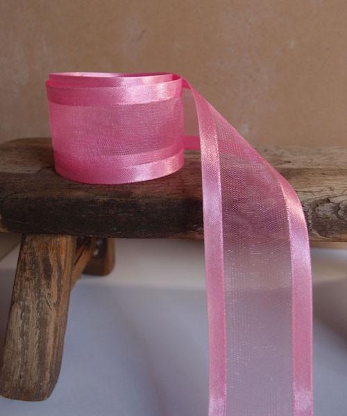 Azalea Sheer Ribbon with Satin Edge (3 sizes)