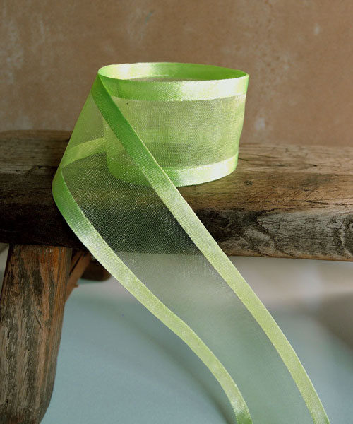 Neon Sheer Ribbon with Satin Edge (4 sizes)